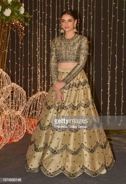 Aditi Rao Hydari at Priyanka Chopra and Nick Jonass reception in Mumbai