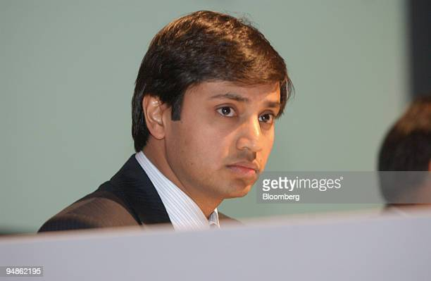 Aditya Mittal president and chief financial officer Mittal Steel Co speaks at a news conference in London UK January 27 2006 Mittal Steel Co made an...