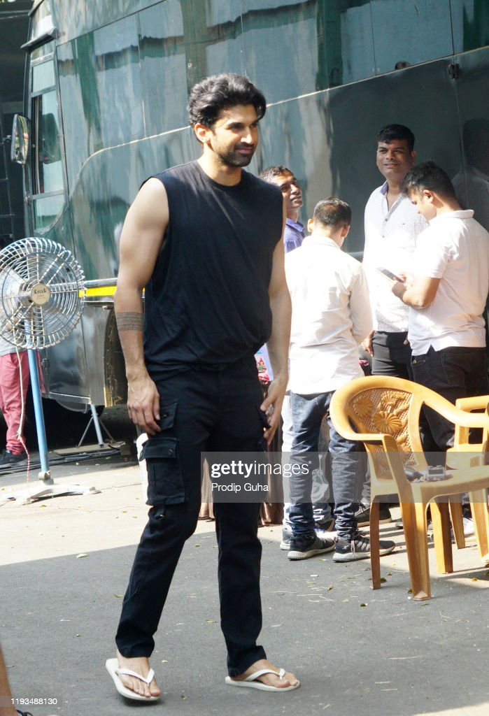 Aditya Roy Kapoor Attends The Photoshoot Of Film Malang At News Photo Getty Images