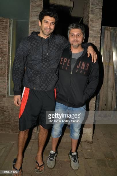 Aditya Roy Kapoor spotted at Mohit Suri's office in Bandra Mumbai