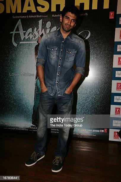 Aditya Roy Kapur at the success party of Aashiqui 2 on 30th April 2013 in Mumbai