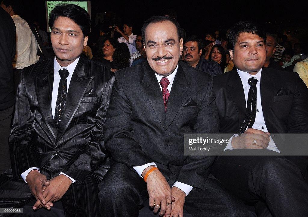 Aditya Srivastava, Shivaji Satam and Dayanand Shetty at CID