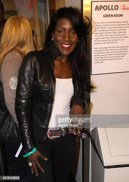 Adjua attends a Jadakiss performance at the Apollo on March 7 2009 in New York City