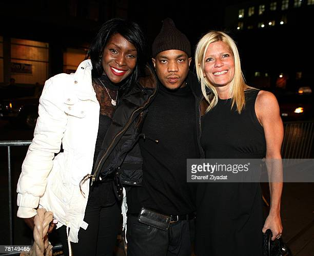Adjua Styles P and Lizzie Grubman attend Styles P's record release and surprise birthday party November 28 2007 at Stereo in New York City