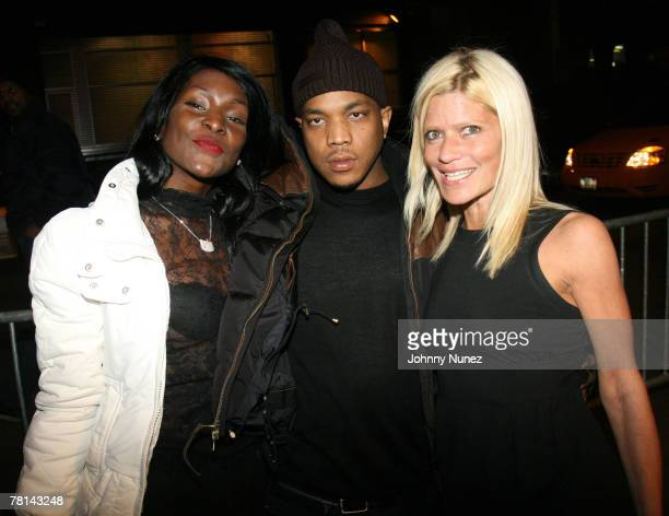 Adjua Styles P and Lizzy Grubman attends Styles P's Surprise Birthday Party on November 28 2007 in New York City NY