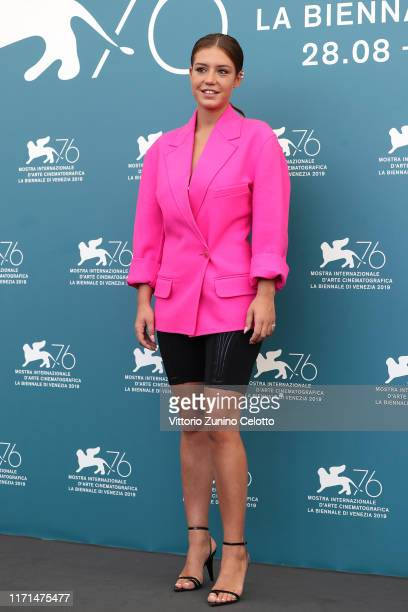 Adèle Exarchopoulos attends the photocall of Revenir during the 76th Venice Film Festival at on September 01 2019 in Venice Italy
