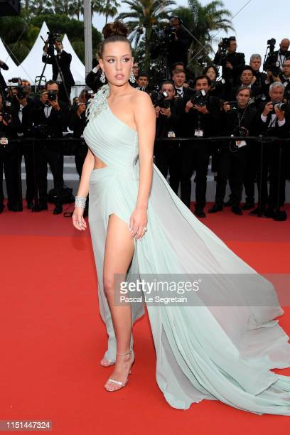 """Adèle Exarchopoulos attends the screening of """"Sibyl"""" during the 72nd annual Cannes Film Festival on May 24, 2019 in Cannes, France."""