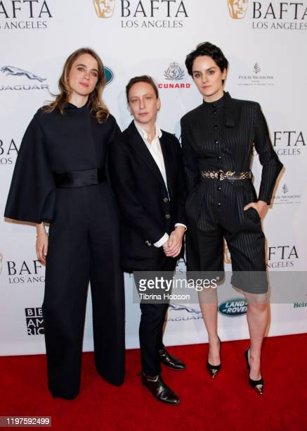 Adèle Haenel, Céline Sciamma, and Noémie Merlant attend The BAFTA Los Angeles Tea Party at Four Seasons Hotel Los Angeles at Beverly Hills on January...