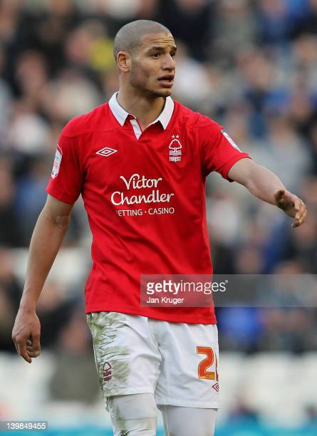 Adlene Guedioura of Nottingham Forest during the npower Championship match between Birmingham City and Nottingham Forest at St Andrews Stadium on...