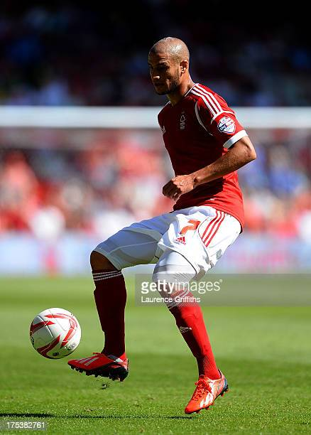 Adlene Guedioura of Nottingham Forest in action during the Sky Bet Championship match between Nottingham Forest and Huddersfield Town at City Ground...