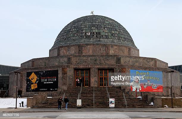 Adler Planetarium in Chicago on January 28 2015 in Chicago Illinois