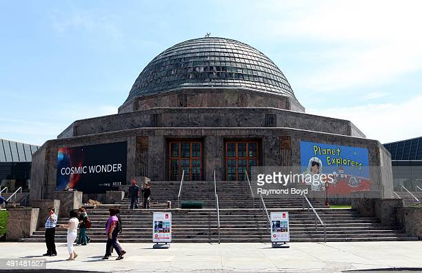 Adler Planetarium on May 10 2014 in Chicago Illinois