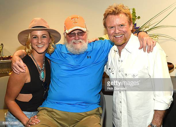 Adley Stump Charlie Daniels and Lee Roy Parnell attend the APA Nashville Party on June 7 2016 in Nashville Tennessee
