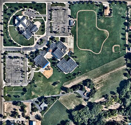 Administrative buildings in Grand Junction, Colorado, USA - gettyimageskorea