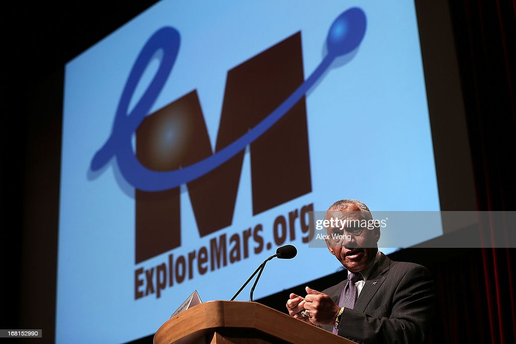 NASA Administrator Bolden Speaks At Humans 2 Mars Summit