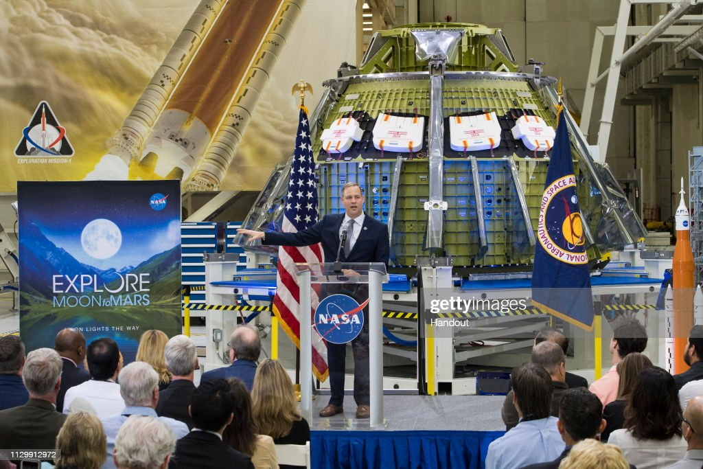 Moon to Mars Event : News Photo