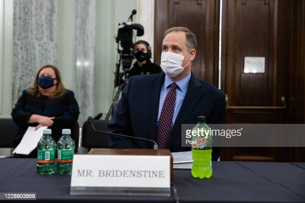 Administrator Jim Bridenstine testifies before the Senate Commerce, Science and Transportation Committee on September 30, 2020 in Washington, DC....