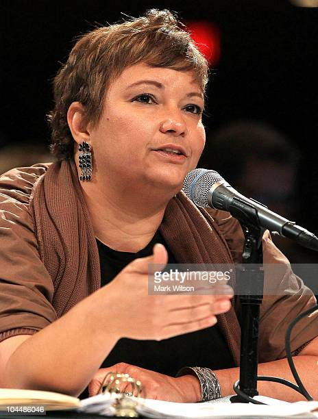 Administrator Lisa Jackson speaks during an Oil Spill Commission panel discussion on September 27 2010 in Washington DC The Commission is hearing...