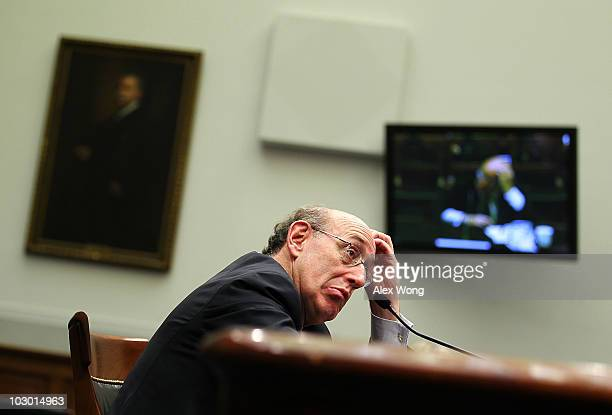 Administrator of the BP Oil Spill Victim Compensation Fund Kenneth Feinberg testifies during a hearing before the House Judiciary Committee July 21...