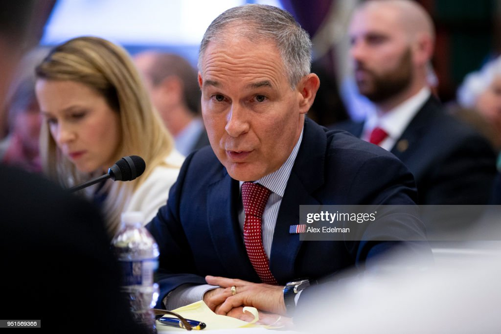 EPA Administrator Scott Pruitt Testifies Before House Appropriations Cmte