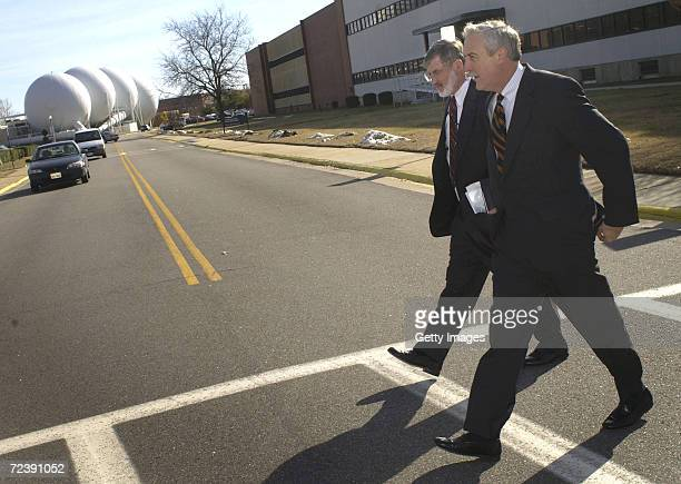 Administrator Sean O''Keefe and NASA's Langley Research Center Director Jerry Creedon tour LaRC January 10 2002 in Hampton Virginia This was part of...