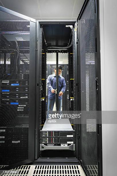 Administrator Arbeiten auf einem server