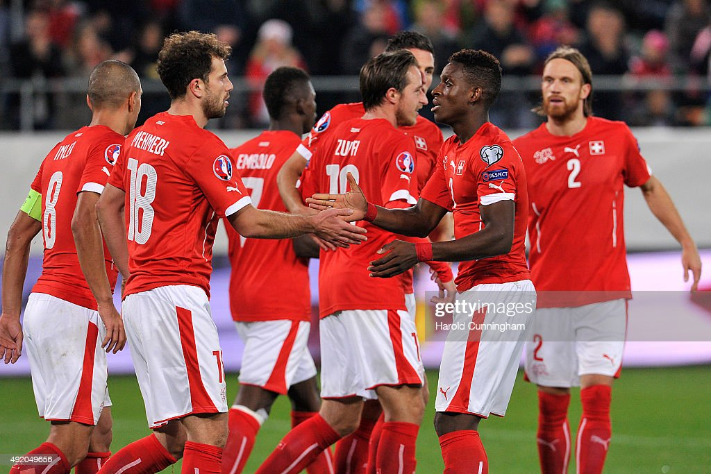 Switzerland v San Marino - UEFA EURO 2016 Qualifier : News Photo