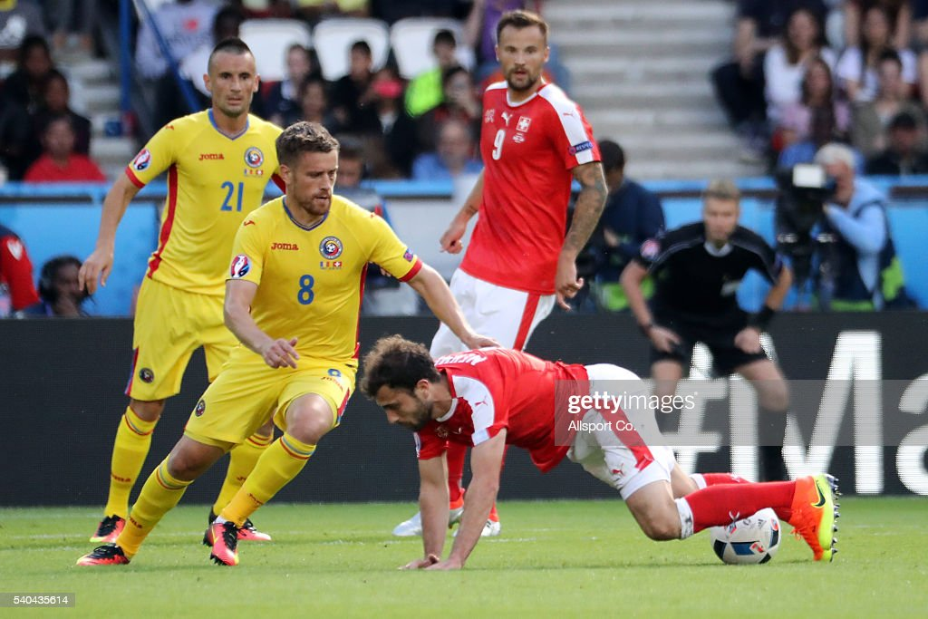Romania v Switzerland - Group A: UEFA Euro 2016 : News Photo