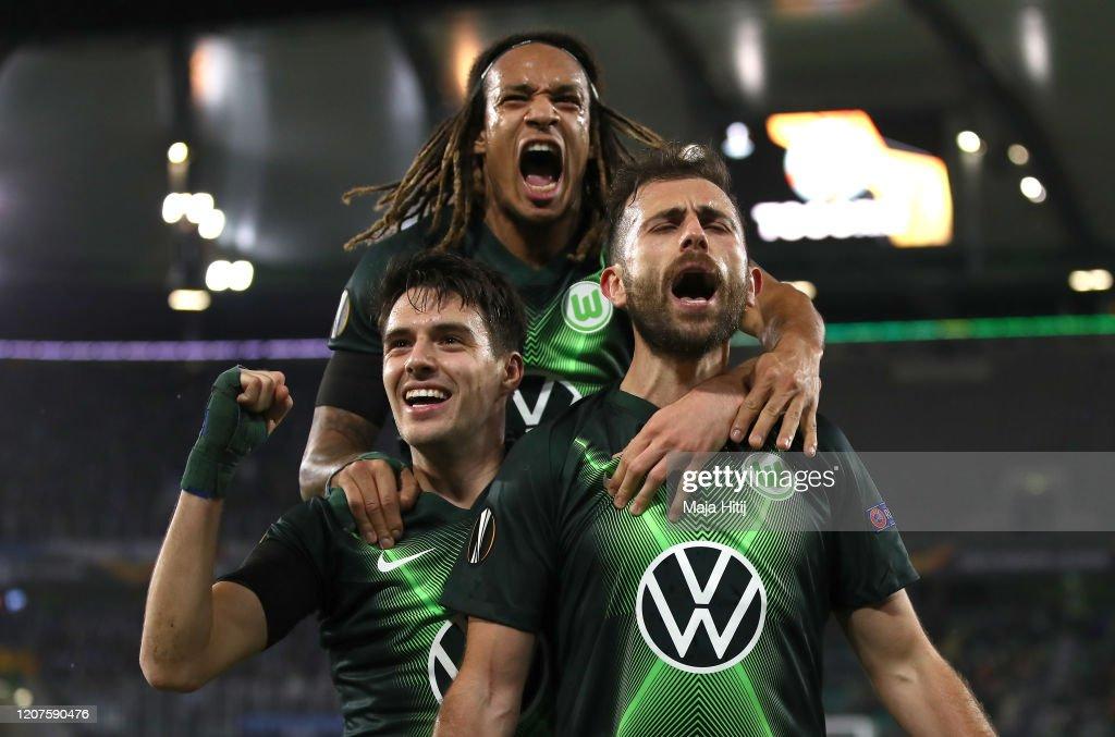 VfL Wolfsburg v Malmo FF - UEFA Europa League Round of 32: First Leg : News Photo