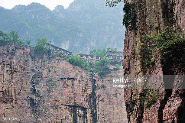 admirable village in the southern taihang mountains 001 - henan province stock pictures, royalty-free photos & images