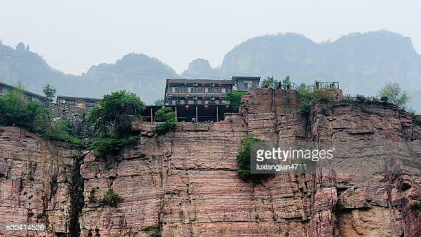 admirable village in the southern taihang mountains 003 - henan province stock pictures, royalty-free photos & images
