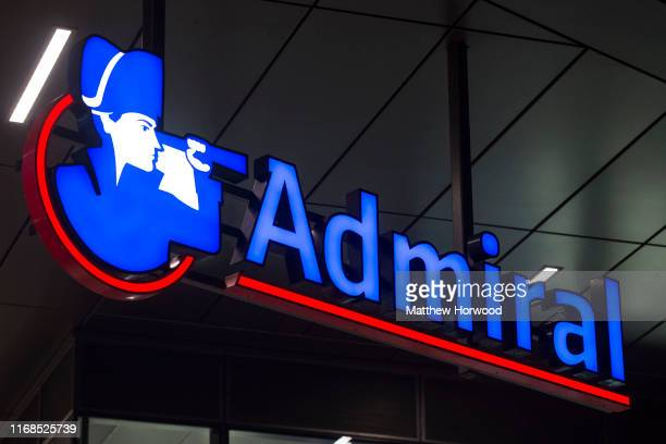 Admiral insurance company sign seen on on September 24 2015 in Cardiff United Kingdom