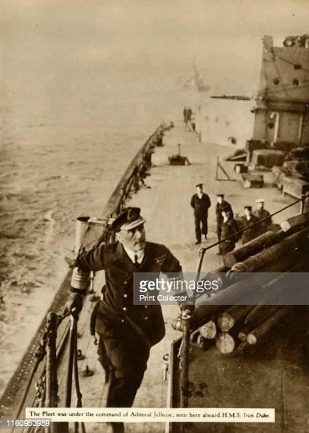 Admiral Jellicoe aboard HMS 'Iron Duke' Admiral Sir John Rushworth Jellicoe was in command of the Grand Fleet the main fleet of the British Royal...