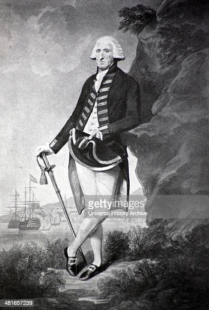 Admiral Lord Hood 17241816 This portrait was painted and engraved shortly after Hood's operations at Toulon He was made a Baron for his services...