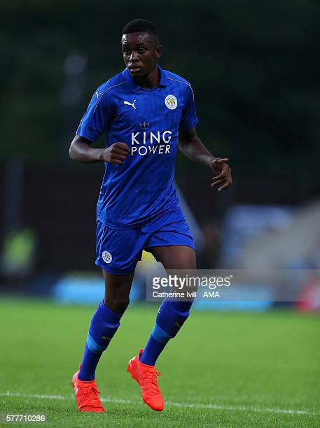 Admiral Muskwe of Leicester City during the PreSeason Friendly match between Oxford United and Leicester City at Kassam Stadium on July 19 2016 in...