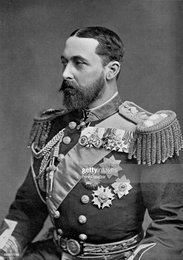 Admiral of the Fleet, the Duke of Saxe-Coburg Gotha, 1896. Artist: Gregory & Co : News Photo