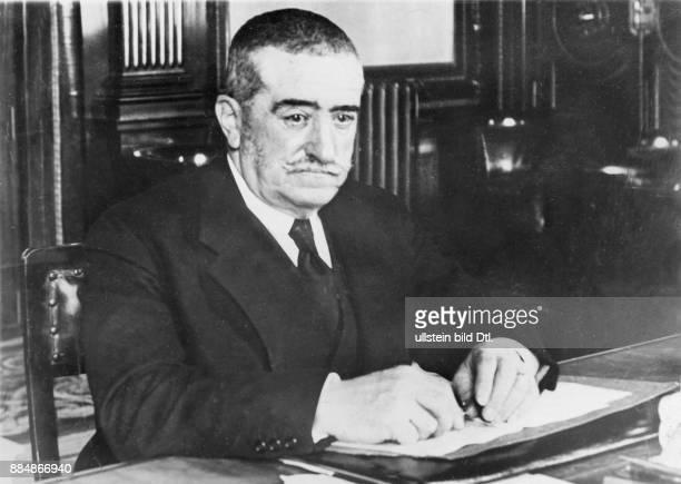 Admiral, Politiker, Ministerpräsident, Spanien *1860-1933+ Portrait Aufnahme: Robert Sennecke Originalaufnahme im Archiv von ullstein bild