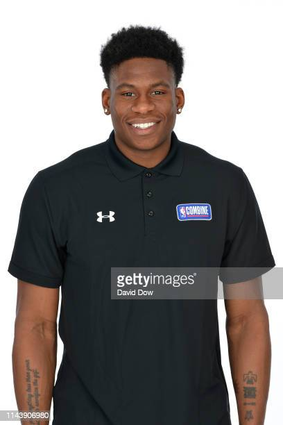 Admiral Schofield poses for a portrait at the 2019 NBA Draft Combine on May 14 2019 at the Chicago Hilton in Chicago Illinois NOTE TO USER User...