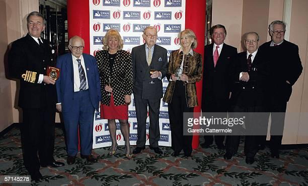 Admiral Sir Alan West Walter Wolfgang Carol Thatcher Alan Wicker Sandra Howard Terry Wogan Richard Ingram and George MacDonald Fraser attend The...