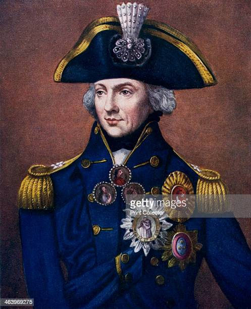 Admiral Sir Horatio Nelson 17981799 Portrait Of After His Victory At The Battle