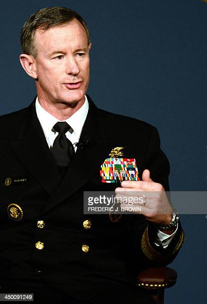 Admiral William McRaven Commander of the US Special Operations Command speaks the panel Counterterrorism in 2025 What kind of fighting force will be...