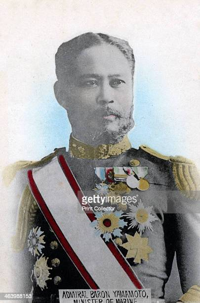 Admiral Yamamoto Japanese Minister of the Navy c19041905 Yamamoto was Navy Minister during the RussoJapanese War of 19041905 and was responsible for...
