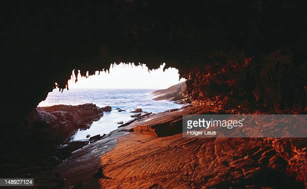 Admirals Arch, sunset.