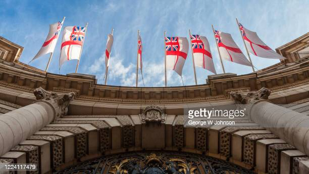 admiralty arch iii - insignia stock pictures, royalty-free photos & images