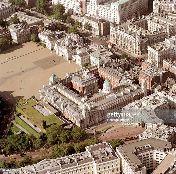 Admiralty Arch Whitehall and Horse Guards Parade Westminster London 2002 Admiralty Arch marks the end of The Mall It was built in 1910 as part of the...