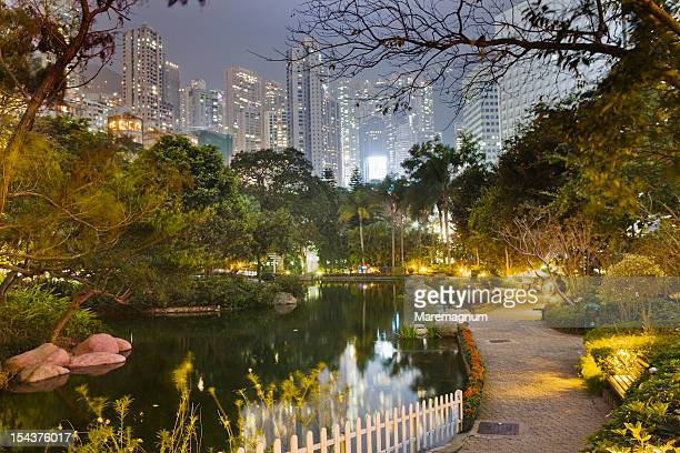 Admiralty, the Hong Kong Park and the town