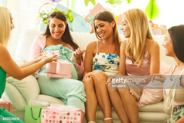 Baby Shower Stock Photos And Pictures Getty Images