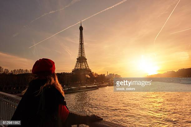 admiring the beauty of Paris