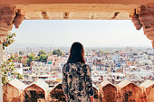 Admiring the City of Udaipur