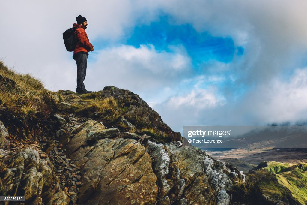 Admiring the view : Stock Photo